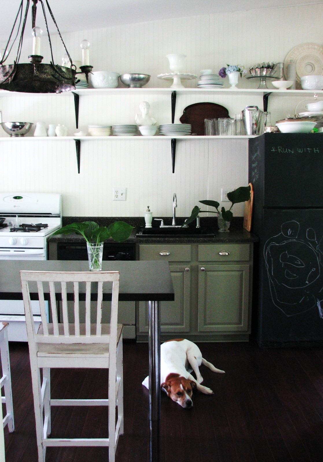 Open Shelving In The Kitchen: Kitchen Planning And Design :: Open Shelves In Your Kitchen