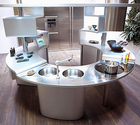 Kitchen planning and design five kitchens from the future - Decoraciones para cocinas ...