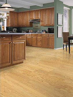 Laminate kitchen floor