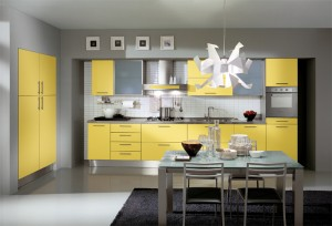 modern-yellow-kitchen
